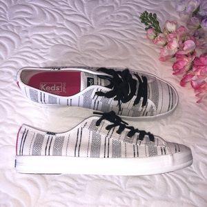 Keds Ortholife women's shoes Black/white Size:10